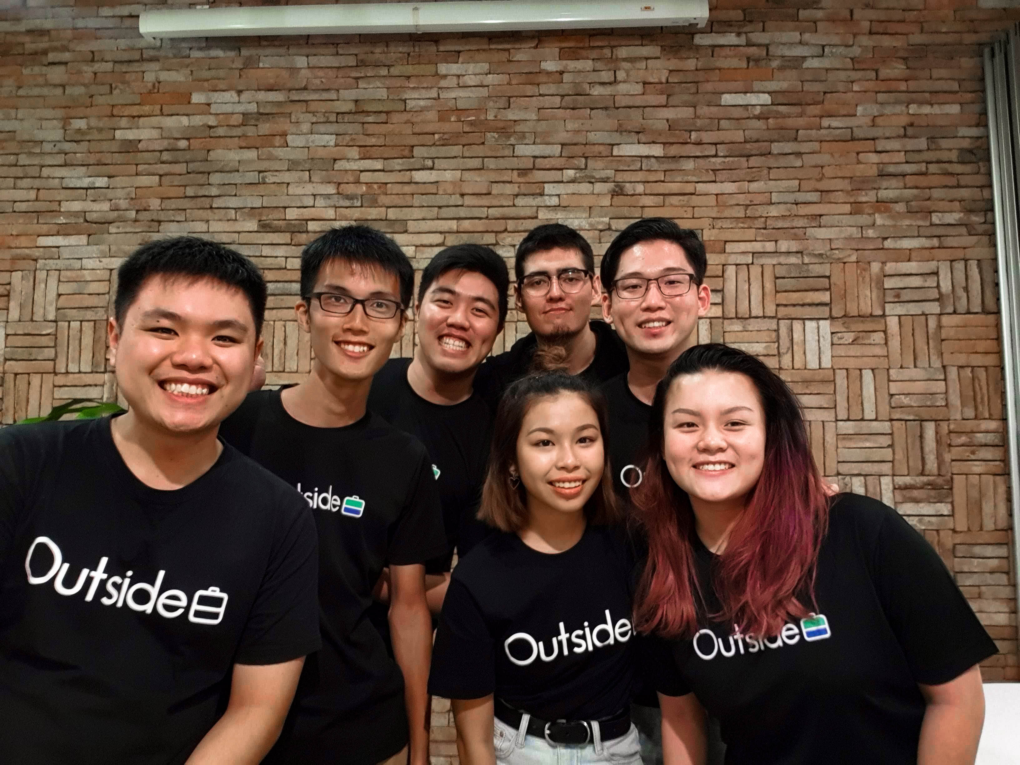 About Outside, Outside App team group photo