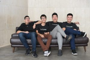 Outside Founding team, LuXian Brueschweiler, Dion Aw, Nicholas Lim and Tristan Yong